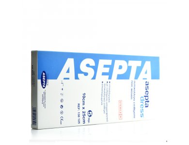 ASEPTA DRESS 10cm X 25cm/5τεμ
