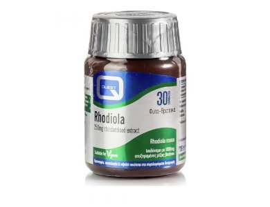 QUEST RHODIOLA 250 MG EXTRACT 30 TABS