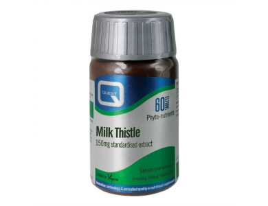 Quest Milk Thistle 150mg, 60 ταμπλέτες