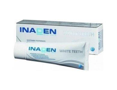 Inaden White Teeth Λευκαντική Οδοντόπαστα 75ml