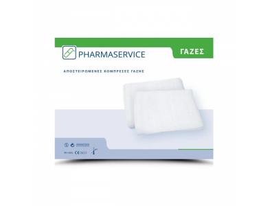 Pharmaservice Γάζες Αποστειρωμένες, 15cmΧ15cm, 12τμχ