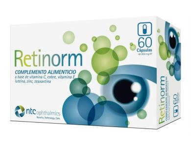 Retinorm 600mg Συμπλήρωμα Διατροφής Για Την Υγεία Των Ματιών, 60caps