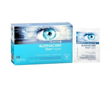 HELENVITA BLEPHACARE Duo Wipes 14τμχ