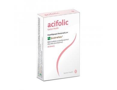 Epsilon Health Acifolic (Folic Acid) 400 mcg 30 tabs