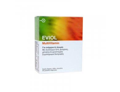 EVIOL MULTIVITAMIN 30caps