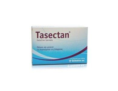 Tasectan Gelatine Tannate 500mg 15caps Η λύση στην Διάρροια
