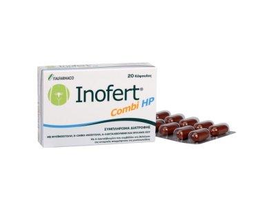 Italfarmaco Inofert Combi HP, Για τις Μεταβολικές και Ορμονικές Διαταραχές & τις Πολυκυστικές Ωοθήκες, 20caps