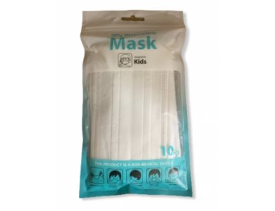 Παιδική Μάσκα με λάστιχο, 10τμχ