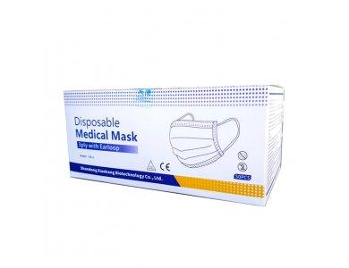 Χειρουργικές medical μάσκες ιατροτεχνολογικές 3ply mask 50 τεμάχια