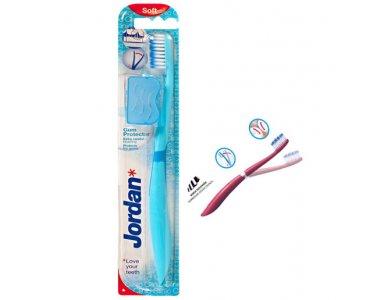 JORDAN GUM PROTECTOR SUPER SOFT Οδοντόβουρτσα Έξτρα Μαλακή, Γαλάζια, 1TEM