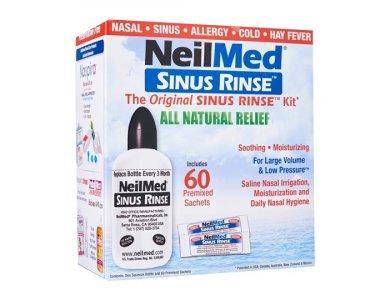 NeilMed Sinus Rinse Σύστημα Ρινικών Πλύσεων Για Ενήλικες, 60 Φακελίσκοι