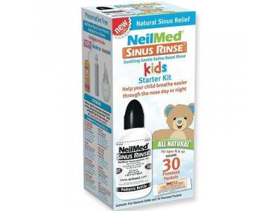 NEILMED SINUS RINSE PEDIATRIC STARTER KIT 120ML & 30 SACHETS