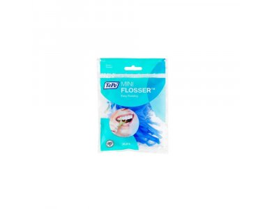 Tepe Mini Flosser Οδοντικό Νήμα Μιας Χρήσης Μπλε Χρώμα 36 τεμάχια