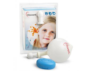 Abigo Otovent Kit, Συσκευή Αυτοεμφύσησης, 1 συσκευή x 1 θήκη x 5 μπαλονάκια