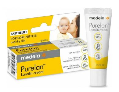 Medela Purelan 100, Κρέμα Περιποίησης Θηλών Mε Λανολίνη, 37gr