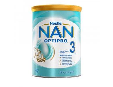 Nestle Nan Optipro 3 Ρόφημα Γάλακτος σε Σκόνη 800gr