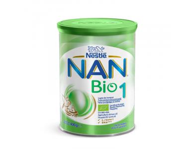 NESTLE - NAN Bio Νο1 Γάλα πρώτης βρεφικής ηλικίας σε σκόνη από τη γέννηση - 400gr