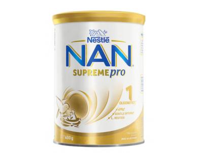 Nestle Γάλα σε Σκόνη Nan Supreme Pro 1, 0m+, 400gr