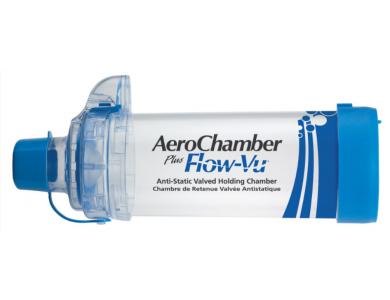 AEROCHAMBER Αεροθάλαμος Εισπνοών Ενηλίκων Χωρίς Μάσκα 5+ Ετών