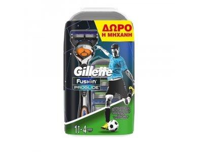 Gillette Fusion Proglide Flexball Ανταλακτικά 4τμχ & Μηχανή