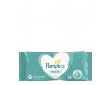Pampers Sensitive Μωρομάντηλα 52τμχ
