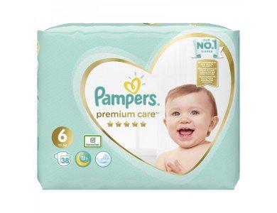 Pampers Πάνες Μωρού Premium Care No6 (13+ kg) 38 τεμάχια