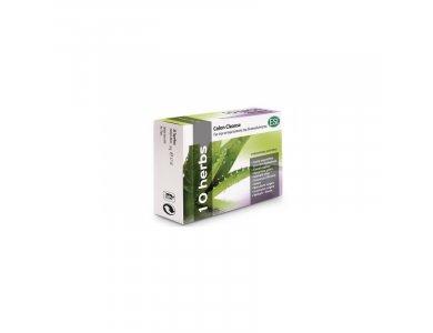 ESI 10 Herbs Colon Cleanse Συμπλήρωμα Διατροφής για Άμεση Αντιμετώπιση της Δυσκοιλιότητας 30 Ταμπλέτες