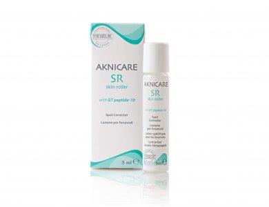 Synchroline Aknicare SR Skin Roller, Λοσιόν Τοπικής Εφαρμογής για Μεμονωμένα Σπυράκια & Μαύρα Στίγματα, 5ml