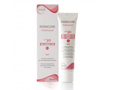 Synchroline Rosacure Intensive Spf 30, Προστατευτική, ενυδατική και καταπραϋντική κρέμα, 30ml