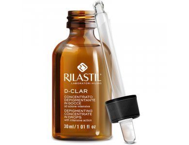 Rilastil D-Clar Depigmenting Concentrated Drops, Ορός με αποχρωματιστική δράση, 30ml