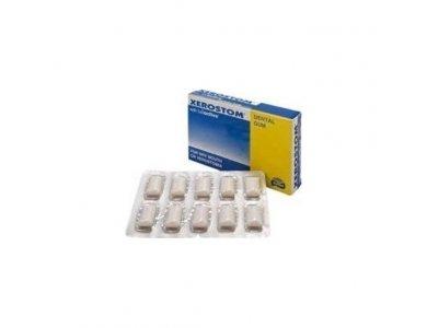 Οδοντότσιχλες Για Την Ξηροστομία Xerostom With Saliactive 20τμχ.