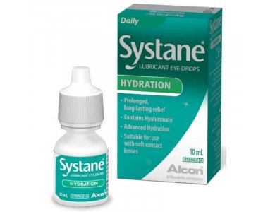 ALCON SYSTANE HA DROPS Λιπαντικές Οφθαλμικές Σταγόνες 10ML