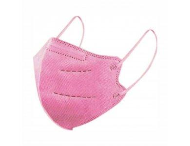Famex Παιδική Μάσκα Προστασίας KN95 FFP2 Ροζ, 1τμχ