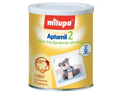Milupa Aptamil 2 Γάλα για Μωρά 6-10 Μηνών, 800gr